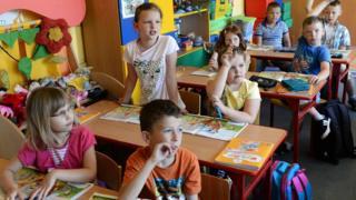 Escuela en Polonia