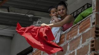 Trapo rojo en Colombia