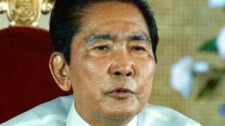 Rais wa zamani waUfilipino Ferdinand Marcos