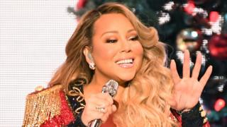 Mariah Carey performs during her All I Want For Christmas Is You tour at Madison Square Garden on December 15, 2019 in New York City