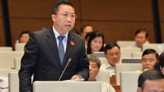 ĐBQH Lưu Bình Nhưỡng được chú ý nhiều trong các lần phát biểu tại Quốc hội.