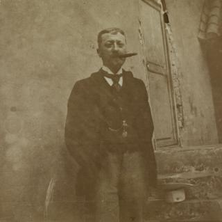 Retrato de Ernest Bourgarel.