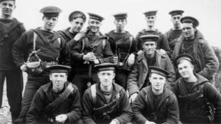 Sailors from the Royal Naval Division