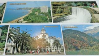 Postcards of Abkhazia