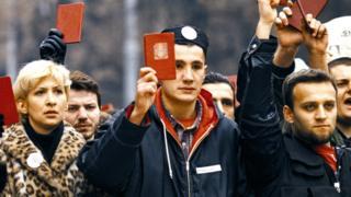 студентски протест 90-их, србија