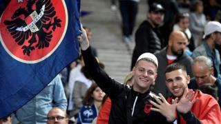 Навијачи Албаније