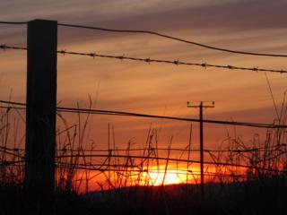 Sunset over Torphichen