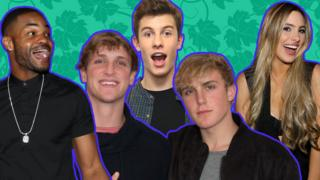 KingBach, Logan Paul, Shawn Mendes, Jake Paul and Lele Pons