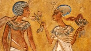 Pareja antiguo Egipto