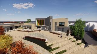 Artist's impression of new cinema complex