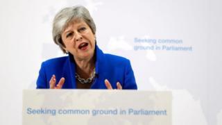 Le Premier ministre britannique, Theresa May, tente de convaincre les députés de son pays à adopter son plan.
