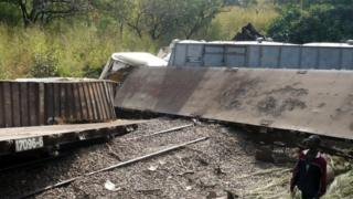 2014 train crash for Katanga province