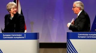 兩位領導人會談後舉行聯合記者會。