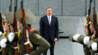 Азербайжандын президенти Илхам Алиев