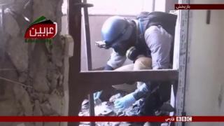 محکومیت جهانی حمله شیمیایی به غوطه شرقی