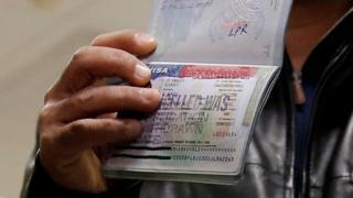 Паспорт с аннулированной американской визой