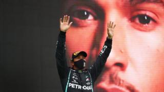 Lewis Hamilton breaking winning F1 win record