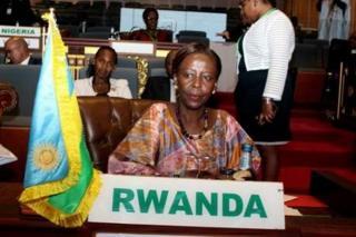 La ministre des Affaires étrangères du Rwanda, Louise Mushikiwabo