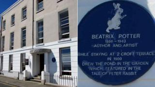 Peter Rabbit creator Beatrix Potter stayed in Croft House in Tenby