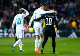 Ronaldo na Neymar bavutse ku itariki imwe nk'iyi