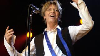 David Bowie sahnede