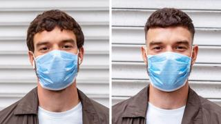 A before and after haircut portrait of Jack Rollings
