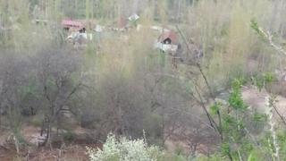 Арсланбап айыл аймагында жекшембиде болгон жер көчкү
