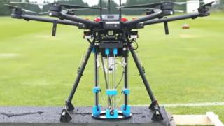 Road-repairing drone developed by the University of Leeds