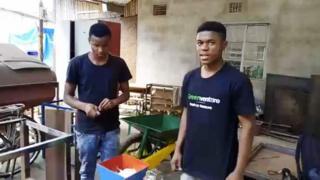 (i buryo) Edgar Edmund Tarimo,17, yaratsindiye agashimwe Anzisha mu 2017
