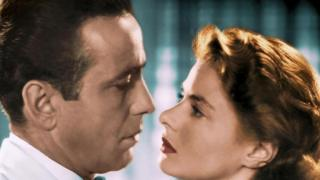 Humphrey Bogart e Ingrid Bergman. (Foto: AF archive / Alamy Stock Photo)