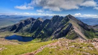 Mark Sutherland was hiking in An Teallach on Sunday.