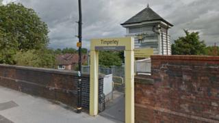 Timperley Metrolink Station