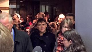 Надежда Савченко в Верховном суде