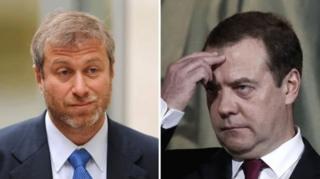 Абрамович и Медведев
