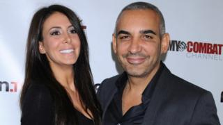 Alki David and wife Jennifer Stano