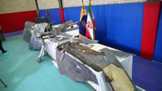 إيران أسقطت طائرة أمريكية دون طيار قبل أيام قليلة