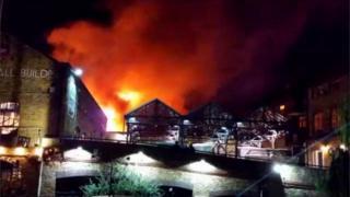 Camden Lock Market fire