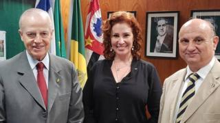 Carla Zambelli e Bertrand Orleans e Bragança