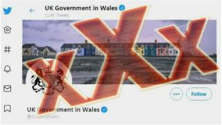 UK Government in Wales