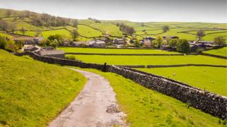 A view of the Yorkshire Dales