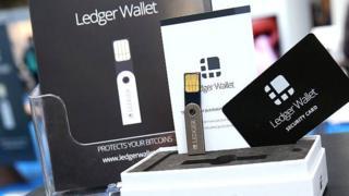 A Ledger Nano device