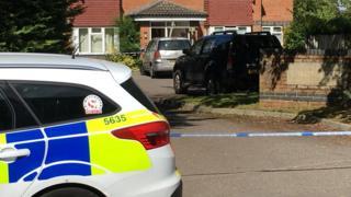 Basingstoke murder scene