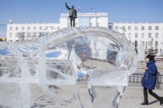 Площадь Ленина в Якутске