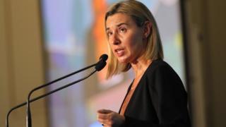 AB Dış İlişkiler ve Güvenlik Politikası Yüksek Temsilcisi Federica Mogherini