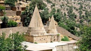 يحج مئات الآلاف من الإيزيديين في معبد لالش المقدس كل عام، ويأتون من جميع أنحاء العالم