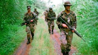 Los soldados estadounidenses permanecieron durante casi un siglo en Panamá.