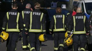 Grenfell firefighters