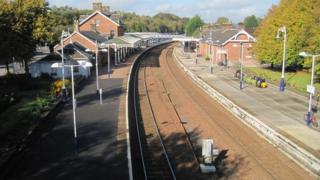 Dumfries station