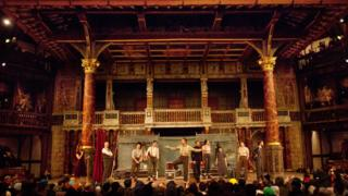 Hamlet at the Globe in 2014