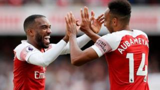 Arsenal na-aṅụrị